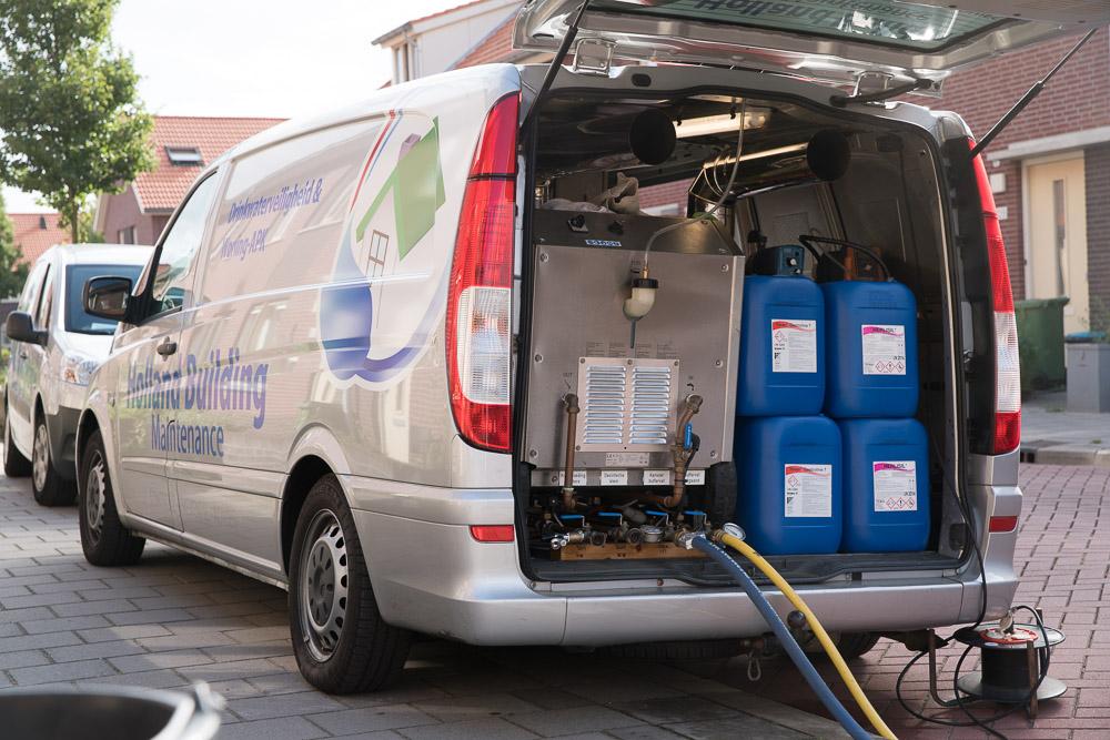 desinfectie waterleiding